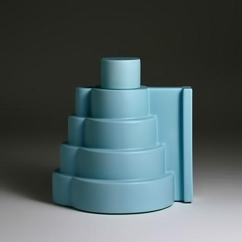 Ettore-Sottsass-Tea-Pot-Lapislazzuli----circa-1987-J-LOHMANN-GALLERY