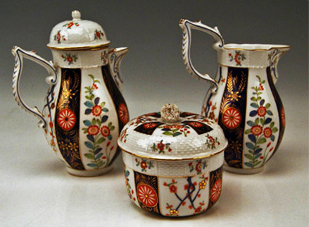 Herend-Rare-Coffee-Set-for-Six-Persons-with-Chinoiserie-Flower-Decor--1890's-City-Antik-Austria
