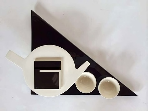 Marek-Cecula Minimalist-Tea-Set-ca'-1980-USA