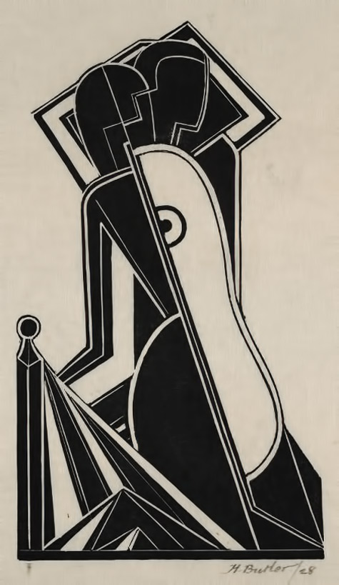 Female-Figure-(1928)-Henry-Butler