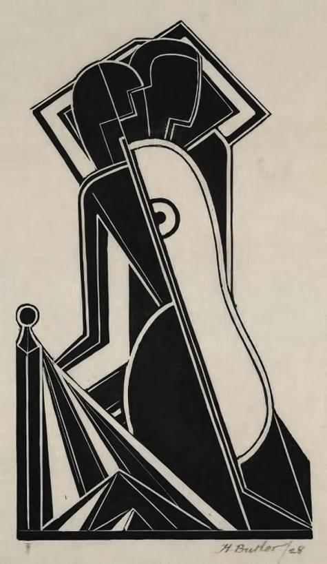 Female-Figure-(1928)-Henry-Butler
