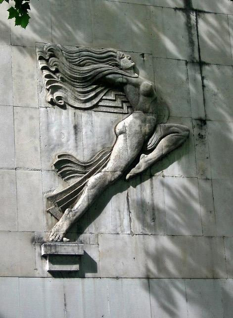 Female-bas-relief,-art-deco-detail,-Glavna-Pošta,-Podgorica-by-Paul-McClure-DC,-via-Flickr