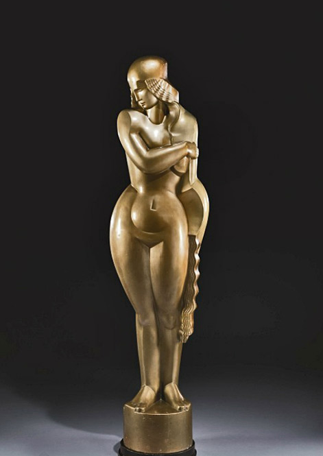 Jan-and-Joël-Martel-(1896-1966) Female-Nude-says-'the-UAM'-1931-height-81inches-Christies