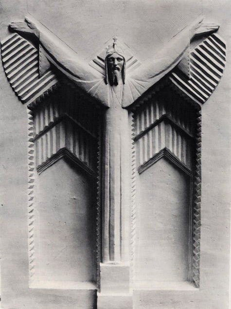 John Storrs - 1930, Christ for the Church of Christ the King, Cork, Ireland