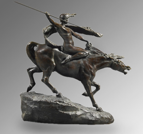 Ride of the Valkyrie.-Stephan Sinding/Paris, 1908, --Sotheby-s