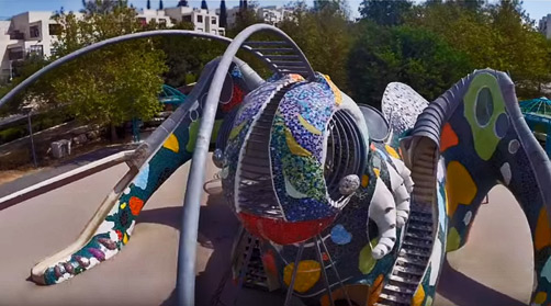 Grasshopper----mosaic-playground-sculpture-of-Ruslan-Sergeev---YouTube-=-