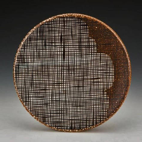 Kyle-Carpenter lattice texture dish