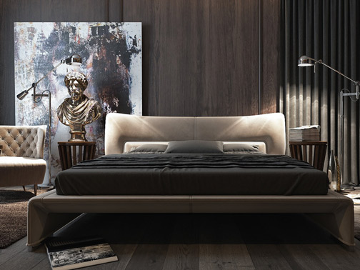 dark-luxurious-bedroom---This-apartment-in-Kiev-(Kyiv)-is-the-work-of-Dzhemesyuk-&-Yurov-Design