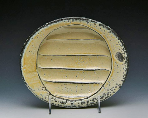 kenyon-hansen contemporary ceramic plate