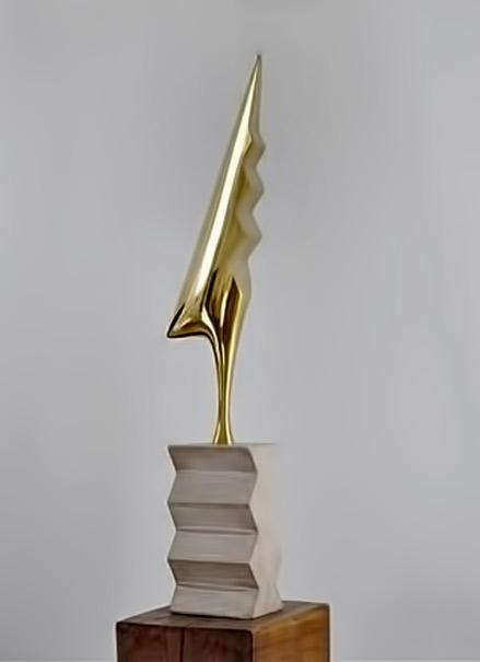 Constantin Brancusi, Cock, 1935, Bronze, National Museum of Modern Art -Georges Pompidou Center, Paris-constantin-brancusi-theredlist