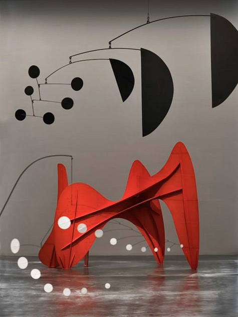 Alexander-Calder abstract mobile