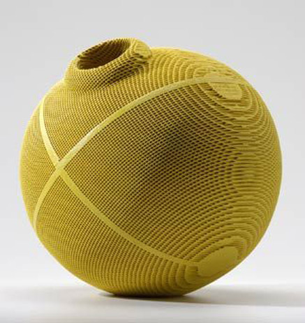 Gregory-Roberts---Lovegrass-III,-2005.-Sculpted-honeycomb-ceramics,-dye,-glaze,-multiple-firings