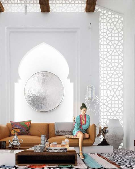 Home-Designing Moroccan decor