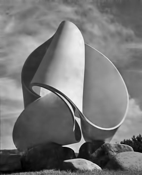 Max-Bill-sculpture,-Zurich,-1946-47