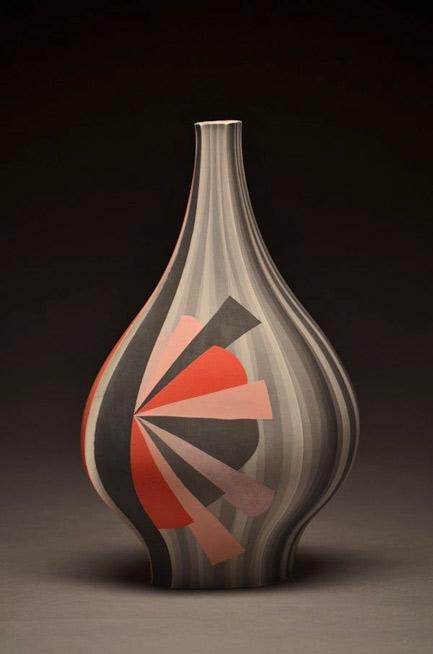 Peter-Pincus--baluster vase