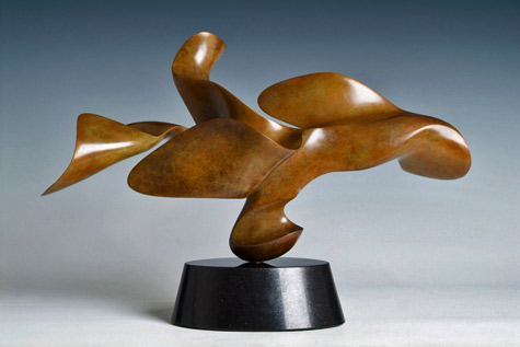 Abstract sculpture Sequita---Richard-Erdman-Studio