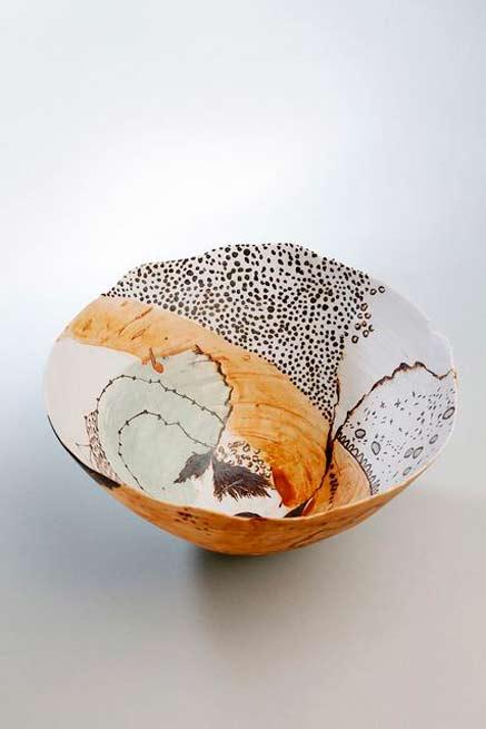 Shannon-Garso ceramic bowl