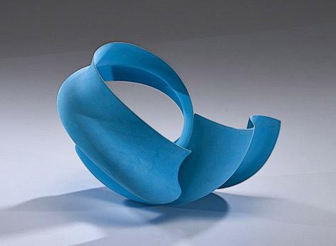 Wouter-Dam-Untitled-Blue-Sculpture-2004 Cowans