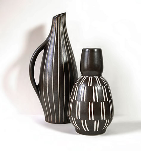 2-Ceramic-Vases-by-Piesche-and-Reif