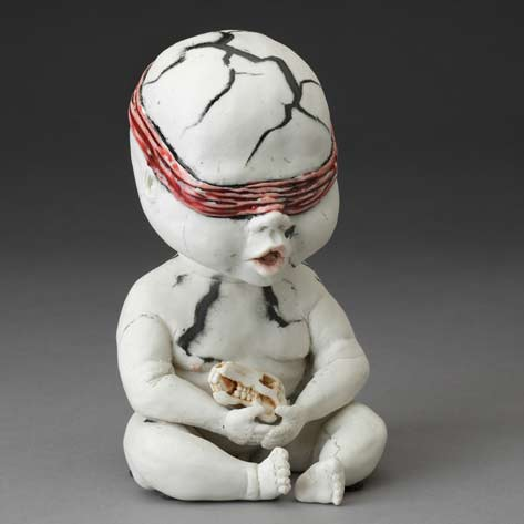Aguirre_Amber_figurine_porcelain_handbuilt_2012_judith_and_martin_schwartz_collection_photo_john_polak_june_15