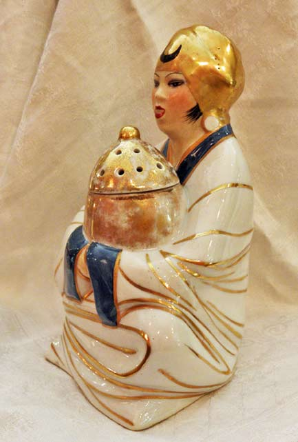 porcelain-figurine incense burner by Robj - Paris