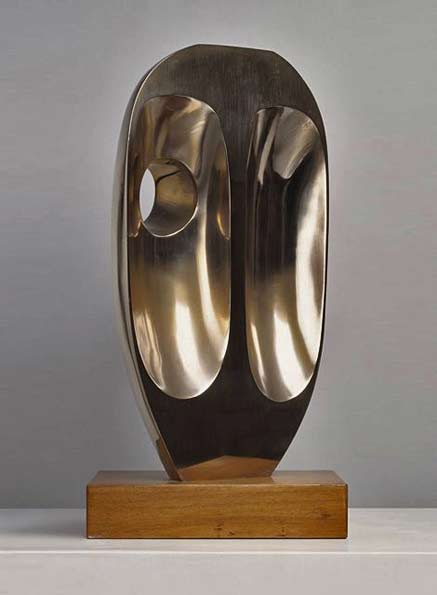Barbara-Hepworth-Elegy-III,-Bronze,-1966