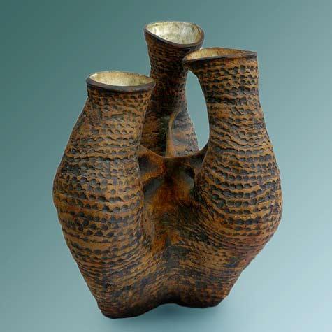Carlton-Ball abstract triple vase