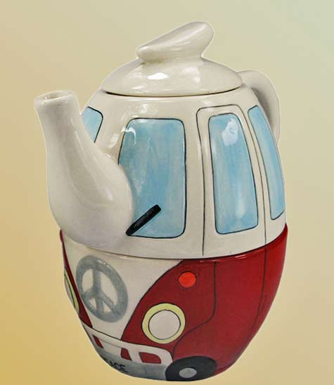 Ceramic-VW-combi-van-teapot-