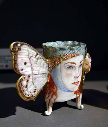 Irina-Zaytceva Mother of Pearl Butterfly