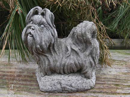 Mini-Shi-Tzu-Dog-Statue
