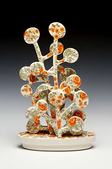 Rain-Harris ceramic sculpture Hedge