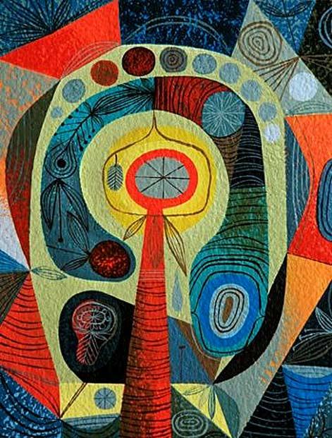 Tim-Biskup modernist art