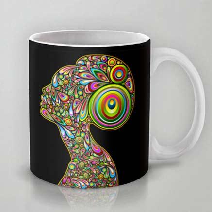 Woman-Psychedelic-Art-Design-Portrait-Bluederkat-Lem