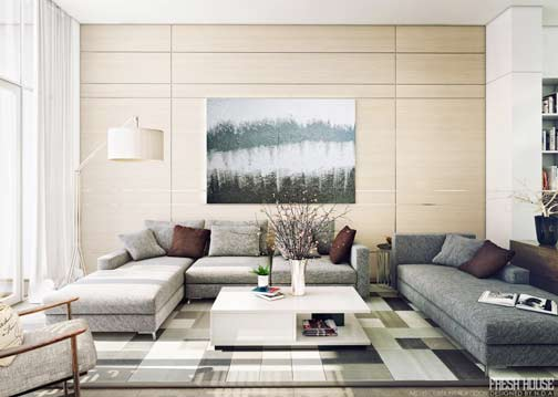 contemporary-living-room-design by NDA
