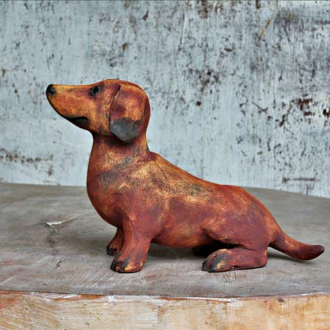 ceramic-figurine-dachshund--Veronica-ArtCZ