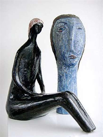 Oswald Tieberghien mid century sculptures