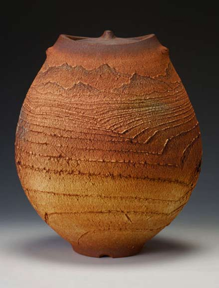 thrown_altered_handbuilt_stoneware_Matthew-Allison - landscape textures