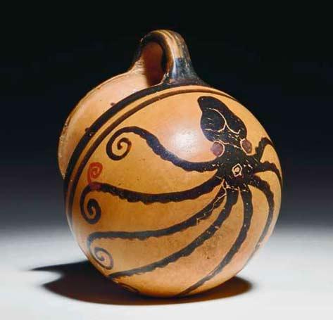 A-Greek-Black-figure-Handled-Mug-with-an-Octopus