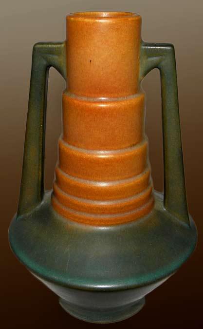 Antique-Art-Deco-Roseville-Pottery-Futura