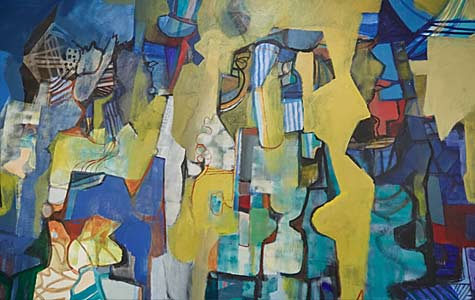 Art-Basel-in-Miami-Beach_-2015_-Survey_-Bergamin-_-Gomide - Abstract painting by Roberto-Burle-Marx