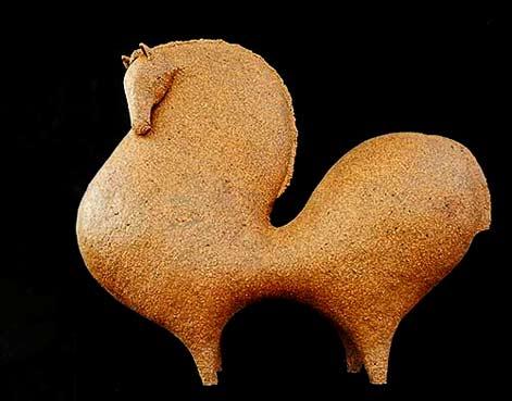 Athena-Jahantigh stylised ceramic horse