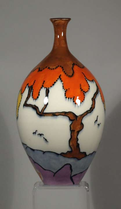 Echo-of-Deco-Art-Deco-Inspired-Hand-Thrown-&-Hand-Painted-Geometric-Vase