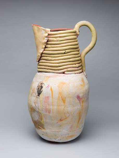 Green-back_29-x-23-x-23-inches-Nancy-Selvin pottery jug