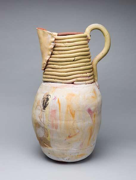Green-back_29-x-23-x-23-inches-Nancy-Selvin pottery jug