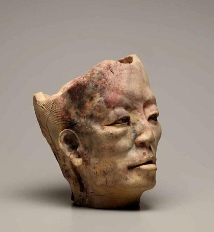 Jean-Marie-Borgeaud sculpture head