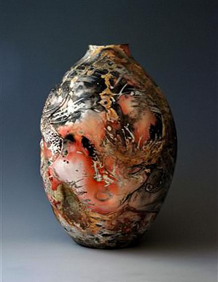 Oliver-the-Octopus---Kyle-Guymon-sager firing ovoid vase