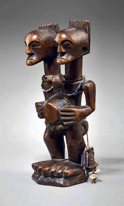 SONGYE-TWO-HEADED-FIGURE---Congo-Republic