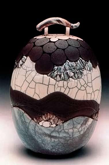 Sarah-Ann-Raku Ceramics-Port-Warwick-Art-&-Sculpture-Festival