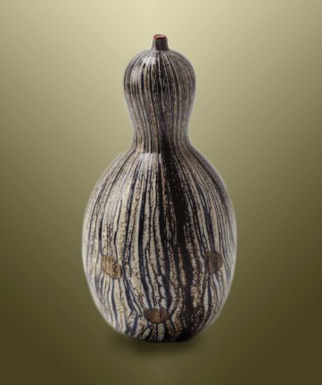 YOICHI-OHIRA ceramic gourd vessel
