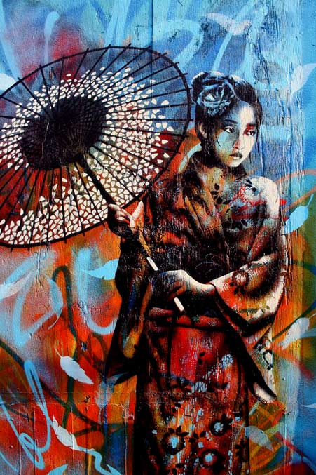 Japanese Geisha S Tradition In Art